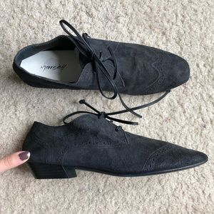 Marsell Leather Lace Up Oxfords